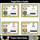 Math Resource -- Just School Cows Number Wall Headers/Posters