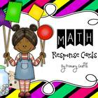 Math Response Cards