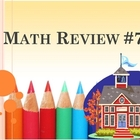Math Review #7 - 20 Questions
