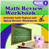 Math Review Workbook - Grade 1