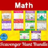 Math Scavenger Hunt Bundle Save 20% or more by buying all