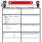 Math Scavenger Hunt  Year End Review Game