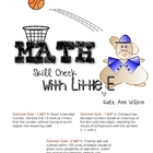 Math Skill Check with Little E