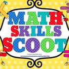 Math Skills Scoot Bundle