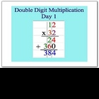 Math Smartboard Lesson Double Digit Multiplication Smartboard