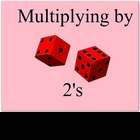 Math Smartboard Lesson Multiplication Fact 2's Smartboard