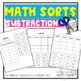 Math Sorts: Subtraction