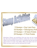 Math Stamp Activities