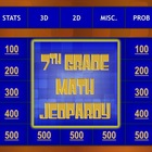 Math State Assessment Preparation Grade 7 Jeopardy® Game