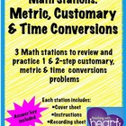 Math Stations: Conversions