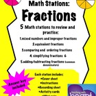 Math Stations: Fractions