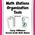 Math Stations Organization Tools