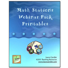 Math Stations Webinar Mini Pack