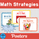 Math Strategies Posters (with simple definitions)