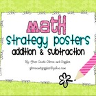 Math Strategy Posters - Addition &amp; Subtraction