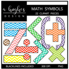 Math Symbols {Graphics for Commercial Use}