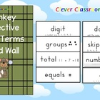 Math Terms Word Wall - 25 pages