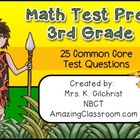 Math Test Prep 3rd Grade Smart Notebook Lesson