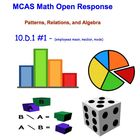 Math Test Prep -  Math Open Response Problems-Data Probabi