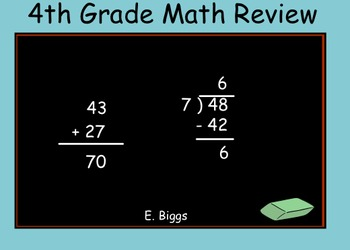 Math Test Prep - Smartboard Lesson