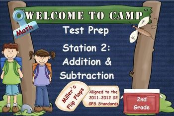 Math Test Prep - Station 2: Add & Subtract - Promethean Activotes