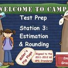 Math Test Prep-Station 3: Estimation &amp; Rounding-Promethean