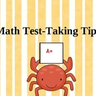 Math Test-Taking Tips PowerPoint