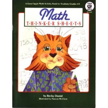 Math Thinker Sheets (Workbook) gr 4-8