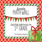 Math Wall: 1st Grade, CC Unit 3