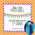 Math Wall: 1st Grade, CC Unit 6