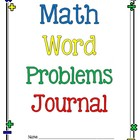 Math Word Problems Journal