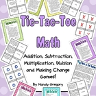 Math Word Problems Tic-Tac-Toe