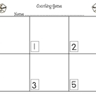 Math Workmats & Worksheets
