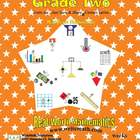 Math Worksheets for Second Grade (Weeks 1 - 10)