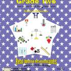 2nd Grade Math Centers or Worksheets (Weeks 21 - 30)