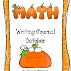Math Writing Journal-October