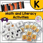 Math and Literacy Activities For Halloween