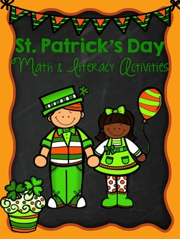 Math and Literacy Activities for St. Patrick's Day