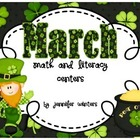 Math and Literacy Centers for March