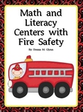 Math and Literacy Centers with Fire Safety