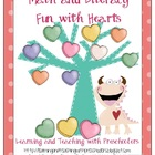 Math and Literacy Fun with Hearts