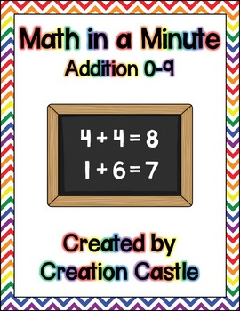 Math in a Minute - Addition