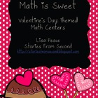 Math is Sweet: Valentine's Day Themed Math Centers