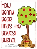Math through Literacy Freebie-How Benny Bear Finds the Big