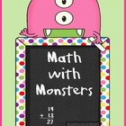Math with Monsters Activity Packet