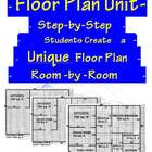 Mathematics Home Floor Plan & Square Area Unit