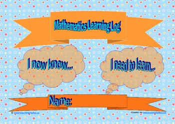 Mathematics Learning Logs
