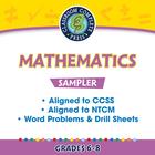 Mathematics Sampler Gr. 6-8