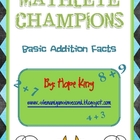 Mathlete Champions