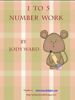 Maths Activities for the Classroom Numbers 1 to 5